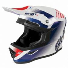 New 2020 Adult SHOT Furious Trust Blue Red Glossy Helmet
